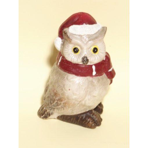 Karácsonyi dísz - Kerámia Bagoly