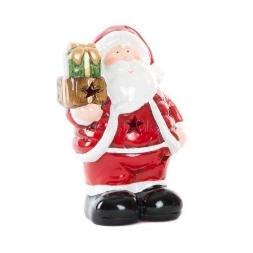 Karácsonyi Mécses Lámpás - Mikulás