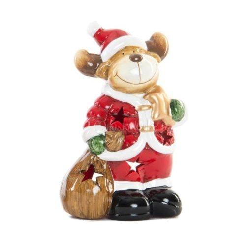 Karácsonyi Mécses Lámpás - Rénszarvas