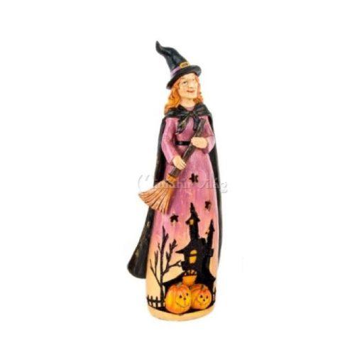 Halloween Ledes Boszorkány Figura