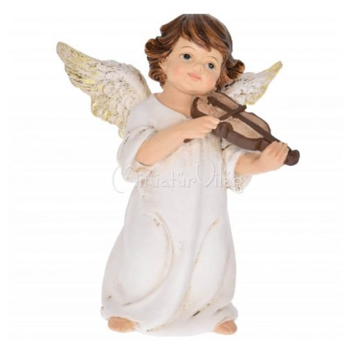Karácsonyi dísz - Angyal Hegedüvel