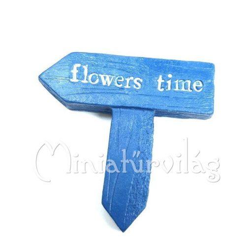 Tábla - Flowers Time