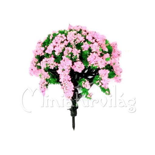 Rózsaszín virágos fa 8 cm
