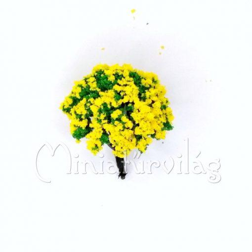 Sárga virágos fa 5 cm