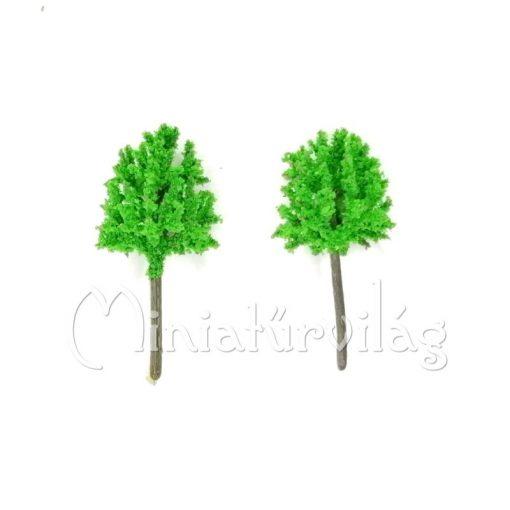 Zöld fa 6 cm 2 db-os