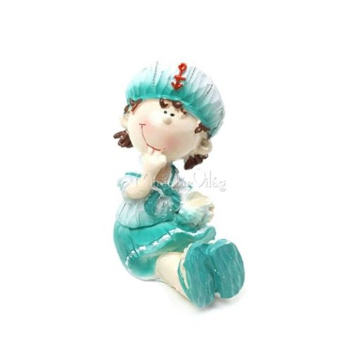 Matróz Kislány figura
