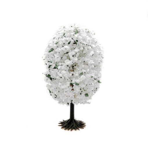 Fehér virágos fa 8 cm