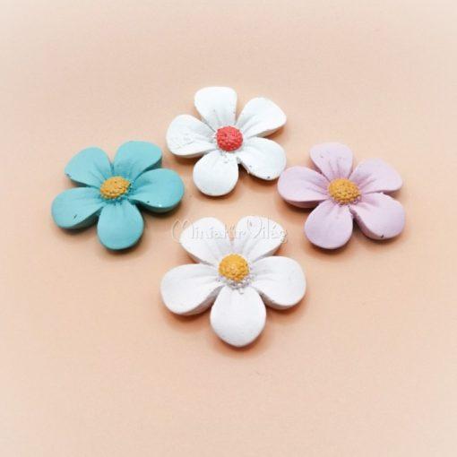 Minifalu - Virágok 4 db-os szett