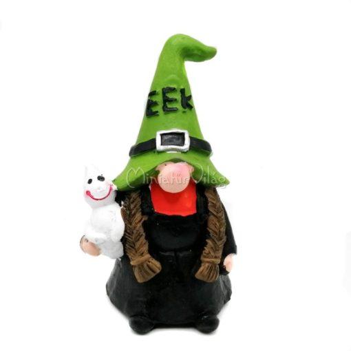 Halloween Manó Boszorkány Figura
